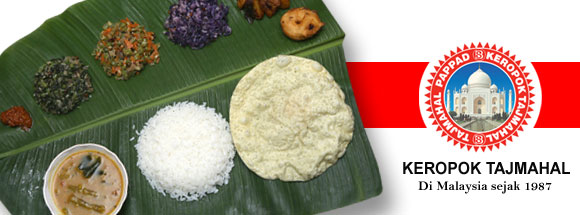 cara masak keropok tajmahal pappadam